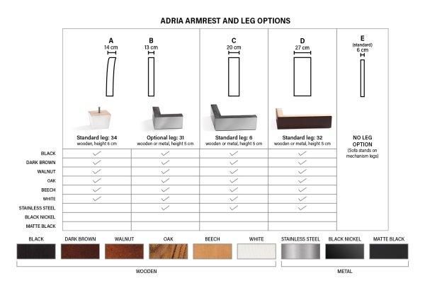 Раскладной диван Adria