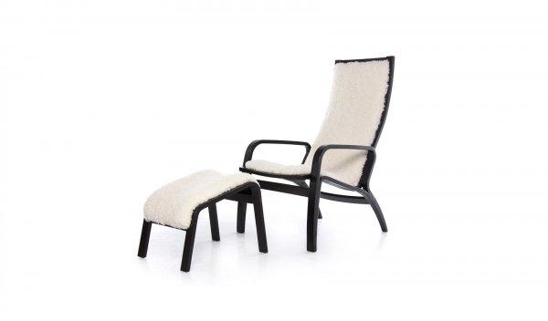 Кресло Conto с пуфом