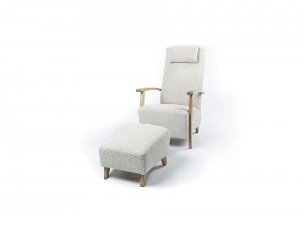 Кресло Mirella с пуфом