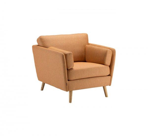 Кресло Visby на конусных ножках
