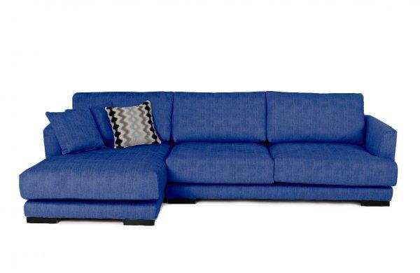 Синий диван Andango Left