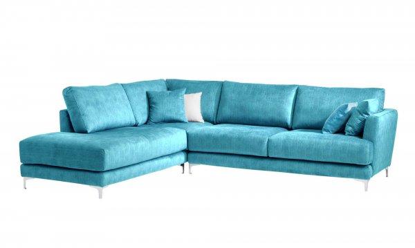 Голубой диван Andango Left