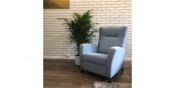 Небесно-голубое кресло Julia
