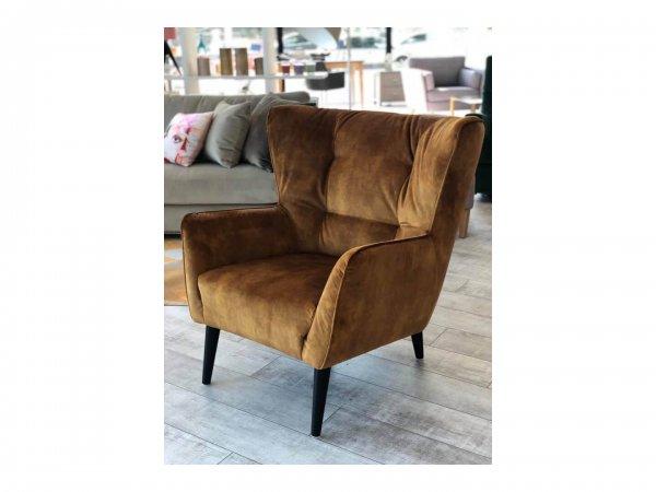 Рыжее кресло Siena