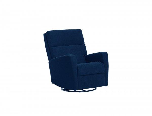 Раскладное синее кресло Ravenna