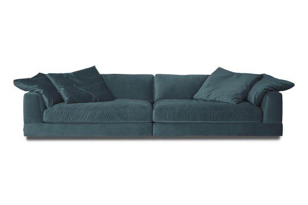 Ультрамариновый диван Infinity