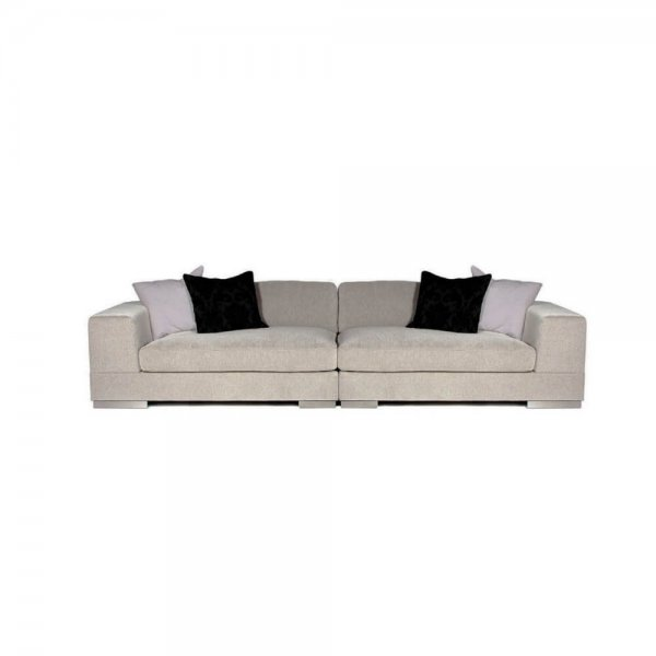 Бежевый диван Lazy