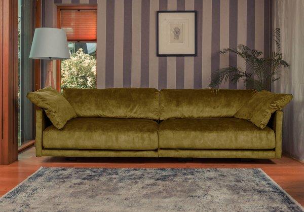 Горчичный диван Discovery