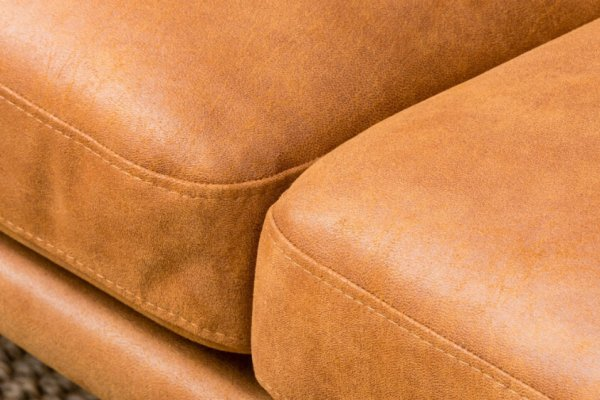 Диван Slim оранжево-коричневый