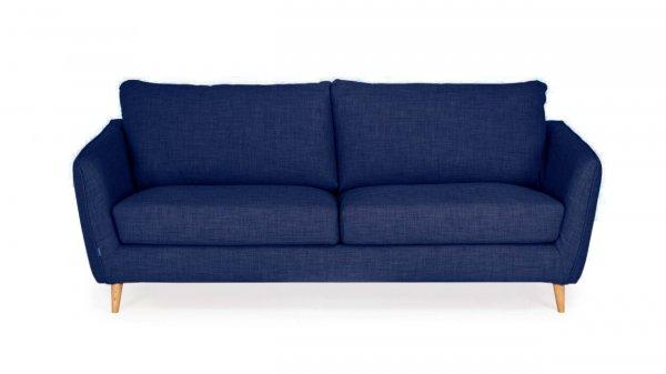 Стильный диван Faro прямой темно-синий