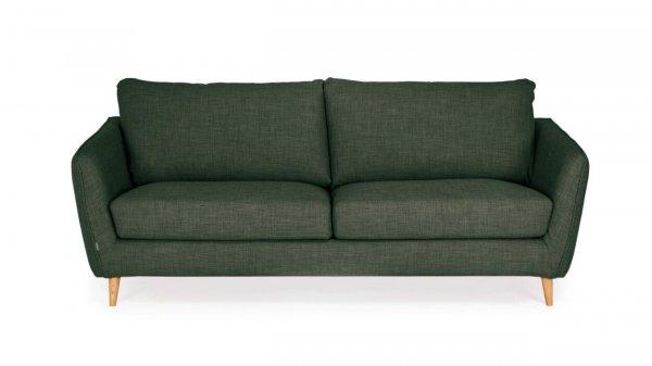 Стильный диван Faro прямой зеленый