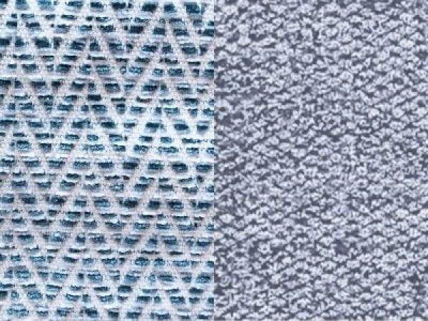 Модульный диван Boni голубой / бирюзовый